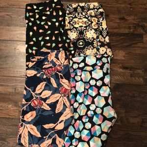 Pack of 4- LulaRoe leggings